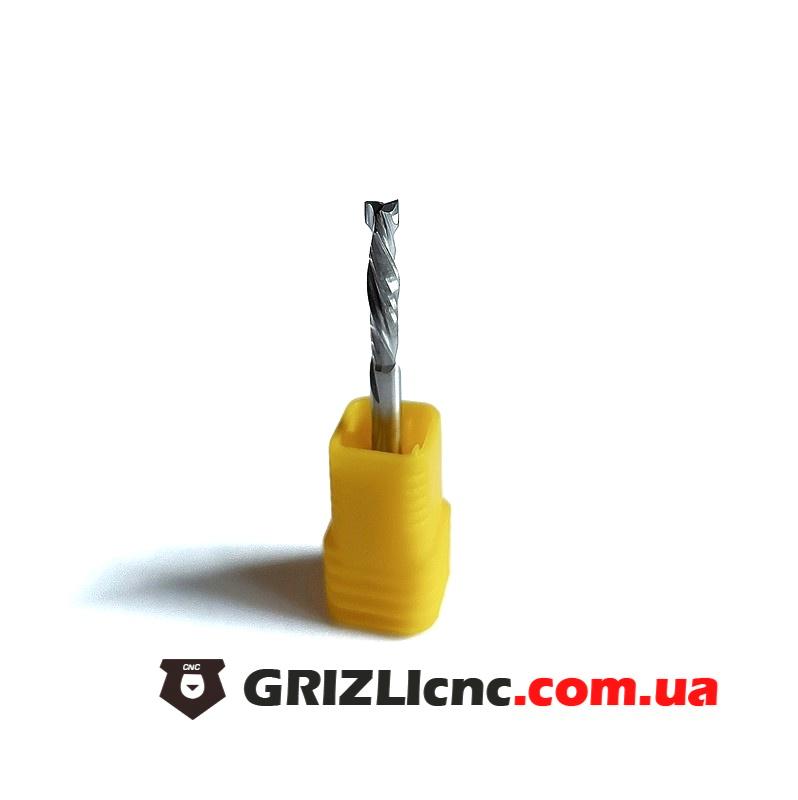 Фреза спиральная двухзаходная D3.175 L17 3A компрессионная (F2S С) | Фото: 1