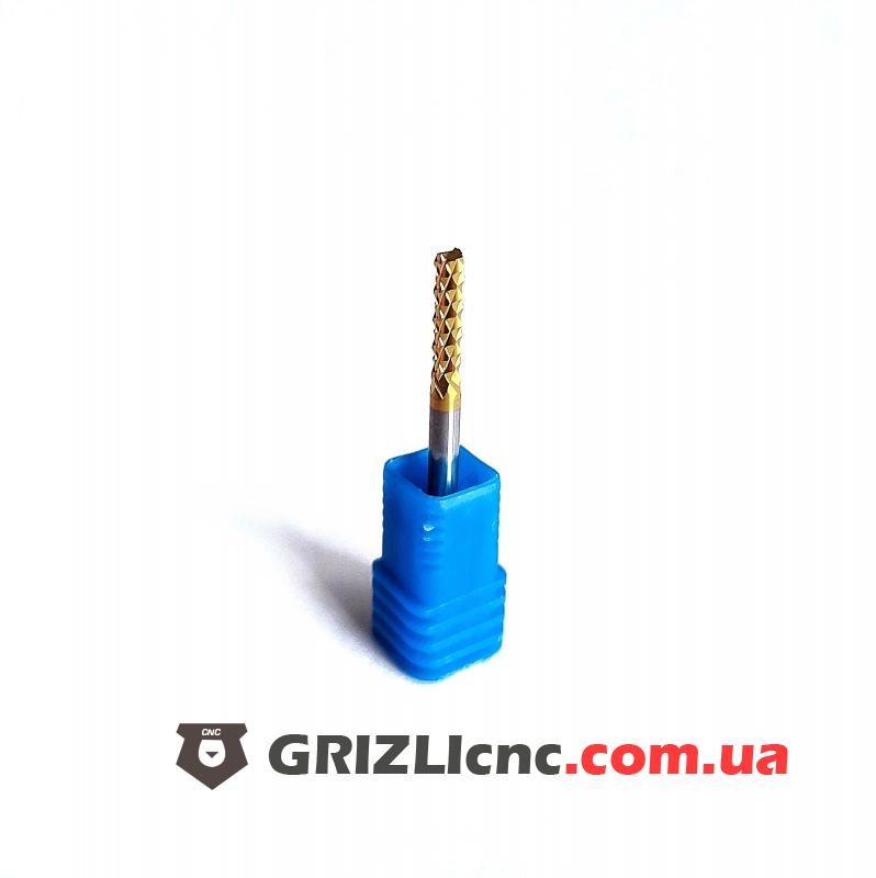 Фреза кукуруза 3mm L14 Ti - Tитановое покрытие (FF) | Фото: 1