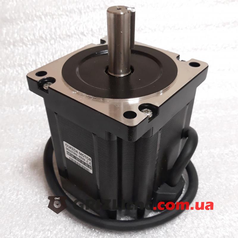 Шаговый двигатель Nema34 12Nm (120кг-см) 4А d14mm L151mm | Фото: 1