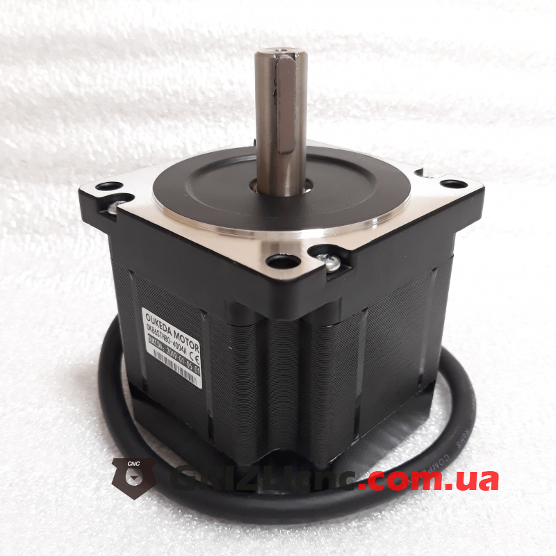 Шаговый двигатель Nema34 4.6Nm (46кг-см) 4А d14mm L80mm | Фото: 1