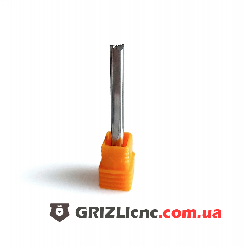 Фреза двухзаходная с прямыми ножами D5 L32 3А (F2P) | Фото: 1