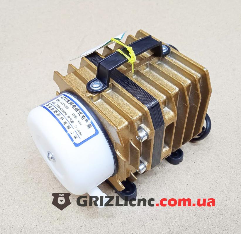 Поршневой компрессор 45Вт ACO-003 для лазерного станка, аэратор для пруда | Фото: 1