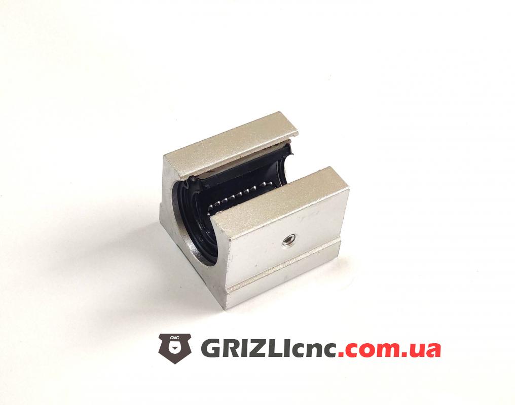 Линейный подшипник SBR25UU для вала на опоре 25мм | Фото: 1