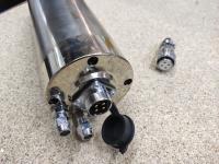 Шпиндель GDZ 2,2кВт 220В цанга ЕR20 водяное охлаждение (3 подшипника) - Фото: 4