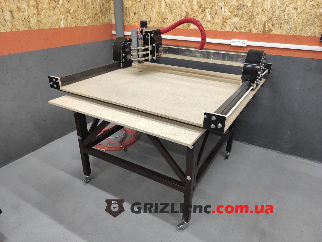 Фрезерный станок с ЧПУ GRIZLI Master 1000х1200мм  настольный   Фото: 1