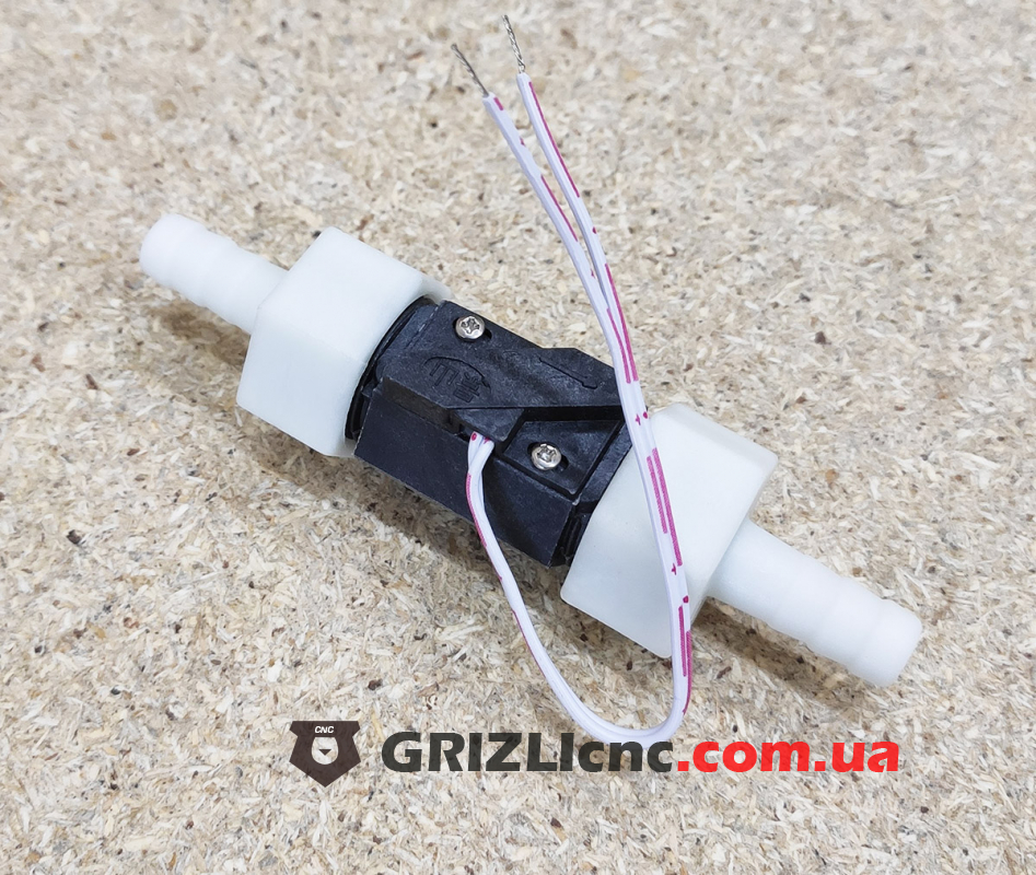 Датчик протока воды, реле протока - пластиковый   Фото: 1