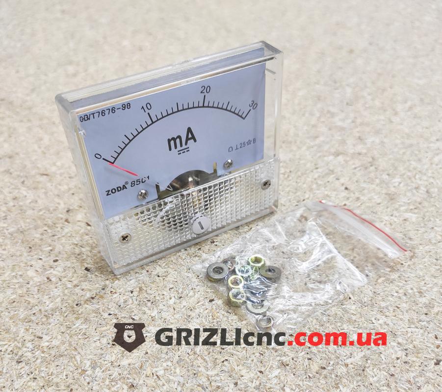 Амперметр 30мА - стрелочный   Фото: 1