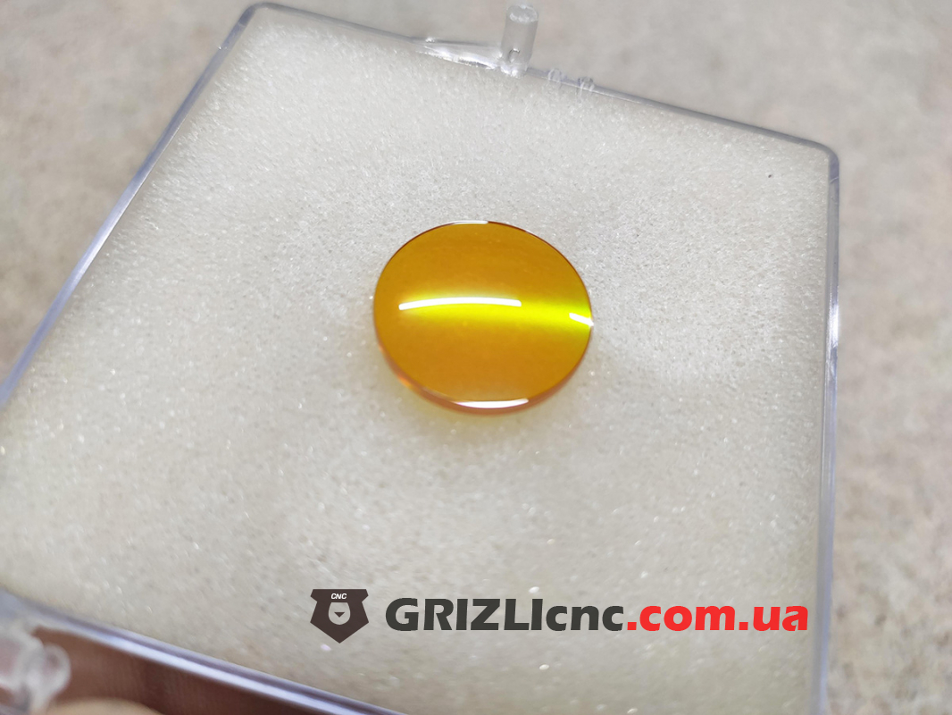 Фокусирующая линза D20 F63.5 - ZnSe (селенид цинка) China | Фото: 1