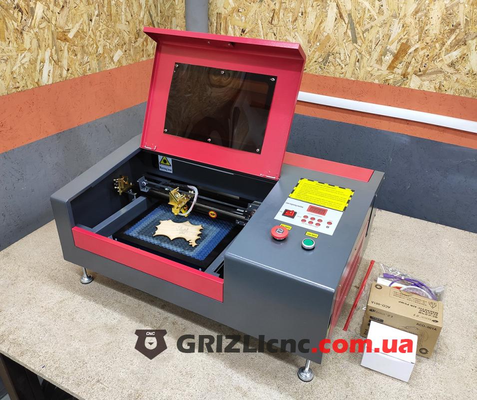 Лазерный станок CO2 30х20см 40Вт   Фото: 1