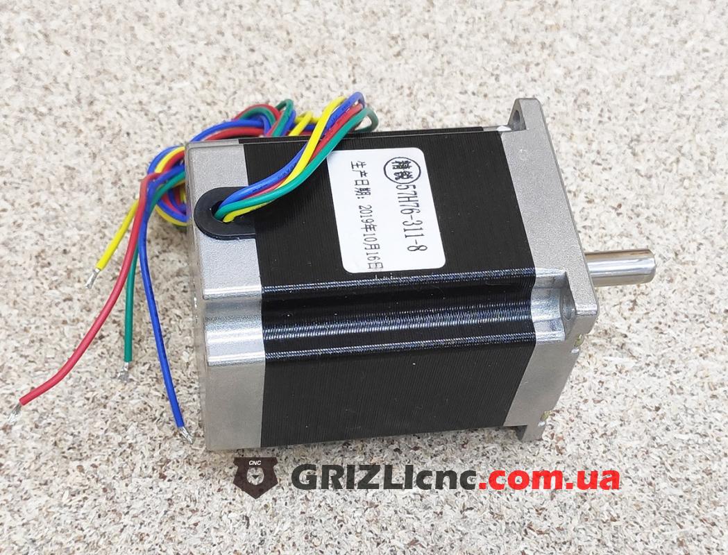 Шаговый двигатель Nema23 1.8Nm 3 Ампера 76мм | Фото: 1
