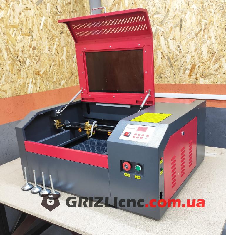 Лазерный станок CO2 40х40см 50Вт | Фото: 1