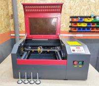 Лазерный станок CO2 40х40см 50Вт - Фото: 3