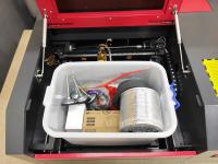 Лазерный станок CO2 40х40см 50Вт - Фото: 10