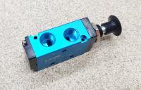 Пневматическая кнопка двухпозиционная 4R210-08 - Фото: 3