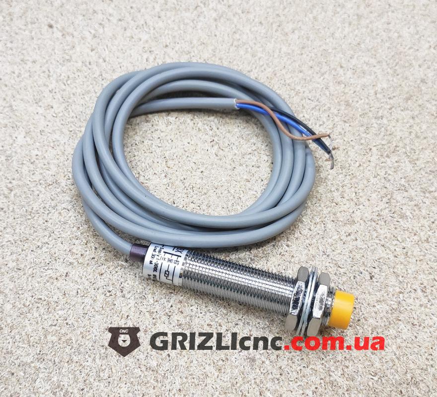Индуктивный концевой датчик NPN LJ12A34Z/BX d12 (нормально открытый) | Фото: 1