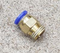 """Фитинг прямой, соединитель 8 мм PC8-01 1/8"""""""