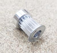Шкив на зубчатый ремень HTD3M 15мм Z15 D8 - Фото: 2