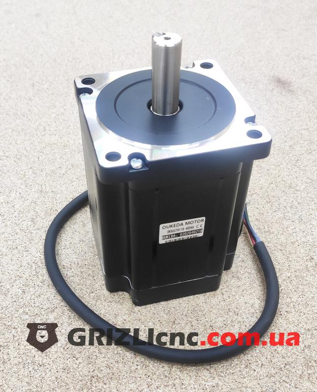 Шаговый двигатель Nema34 8.7Nm (87кг-см) 4А d14mm L115mm | Фото: 1
