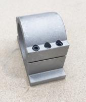 Алюминиевое крепление шпинделя D80мм - усиленное - Фото: 3