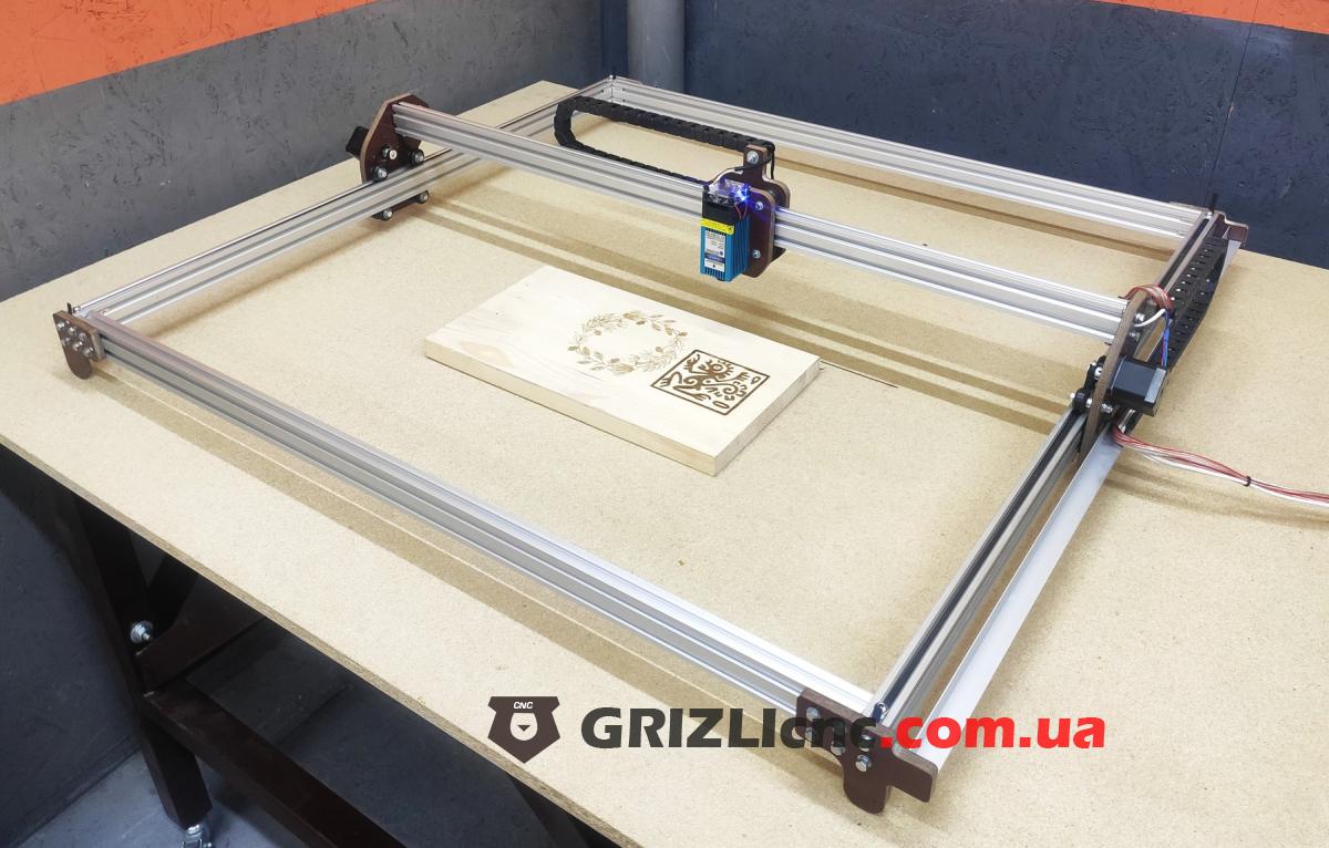Лазерный гравер 800х800мм LED 15Вт | Фото: 1