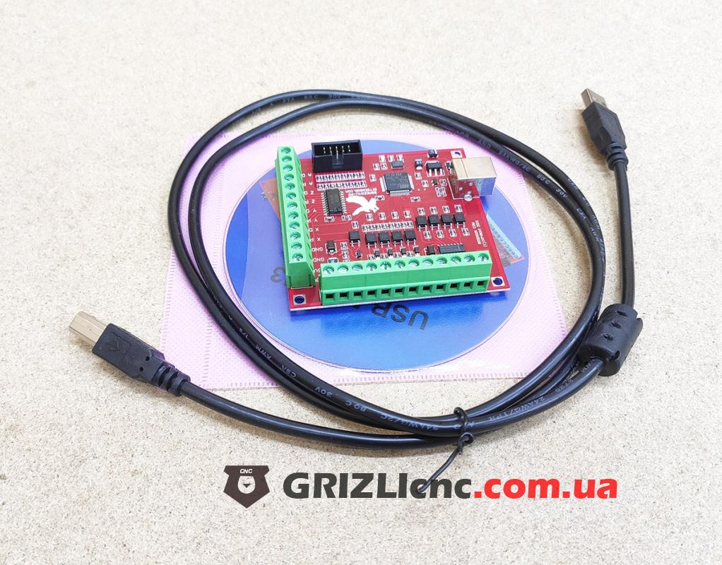 Плата опторазвязки Mach3 USB 4 оси (bitsensor) | Фото: 1