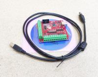 Плата опторазвязки Mach3 USB 4 оси (bitsensor)