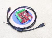 Плата опторазвязки Mach3 USB 4 оси (bitsensor) - Фото: 2