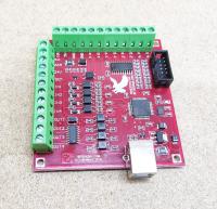 Плата опторазвязки Mach3 USB 4 оси (bitsensor) - Фото: 4