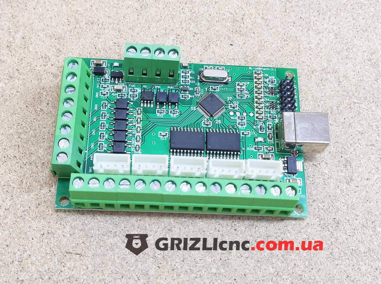Плата опторазвязки Mach3 USB 5 осей | Фото: 1