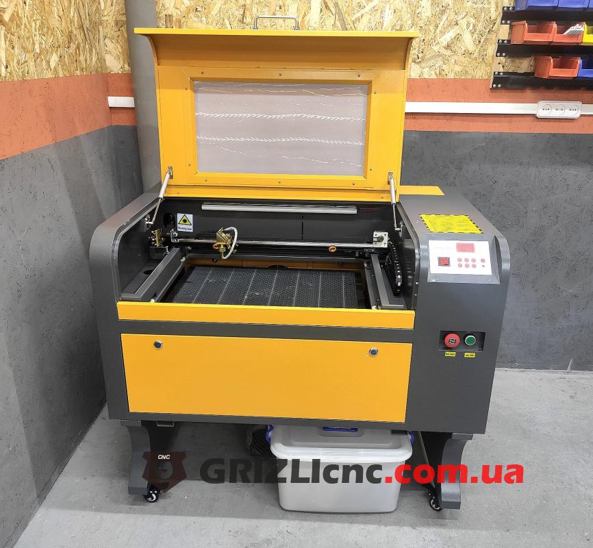 Лазерный станок CO2 40х60см 50Вт/100Вт | Фото: 1