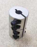 Жесткая муфта 8-8 мм D25L40