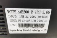YINGSHIDA AE200 - частотный преобразователь 3кВт 220В инвертор - Фото: 5
