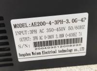 YINGSHIDA AE200 - частотный преобразователь 3кВт 380В инвертор - Фото: 3