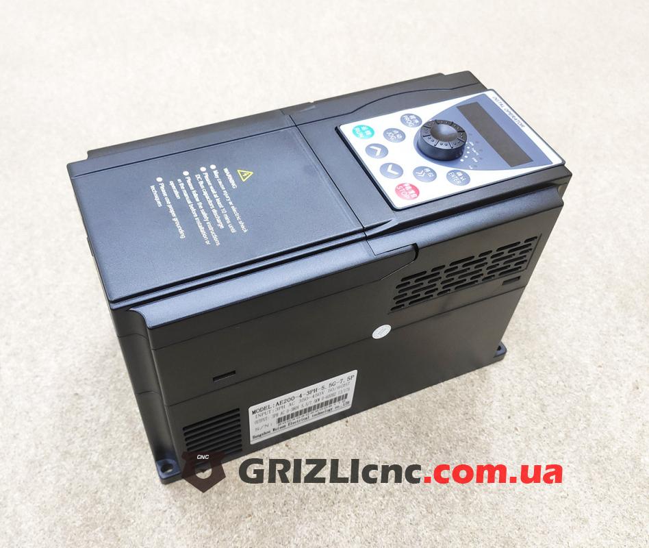 YINGSHIDA AE200 - частотный преобразователь 5.5Квт 380В инвертор | Фото: 1