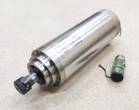 Шпиндель GDZ 4,5кВт 220В цанга ЕR20 водяное охлаждение (4 подшипника) - Фото: 3