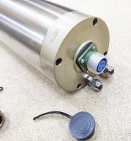 Шпиндель GDZ 4,5кВт 220В цанга ЕR20 водяное охлаждение (4 подшипника) - Фото: 5