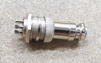 Разьем цилиндрический GX16 4pin  (мама+папа) - Фото: 4