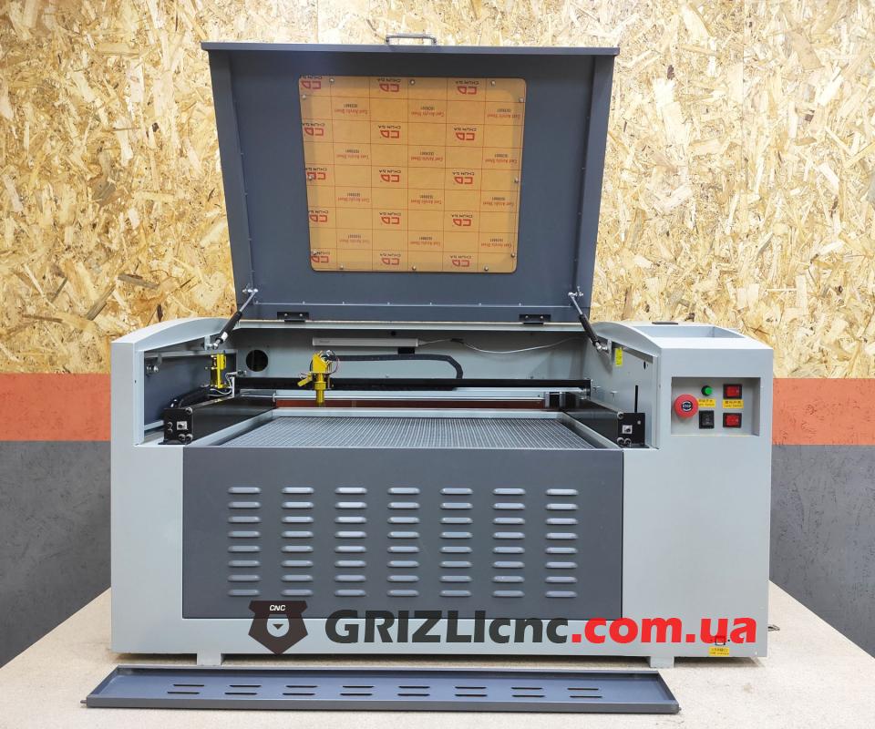 Лазерный станок CO2 50х70см 80Вт | Фото: 1