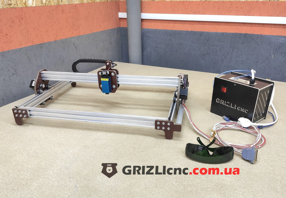 Лазерный гравер 440х380мм LED 15Вт | Фото: 1