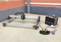 Лазерный гравер 440х380мм LED 15Вт