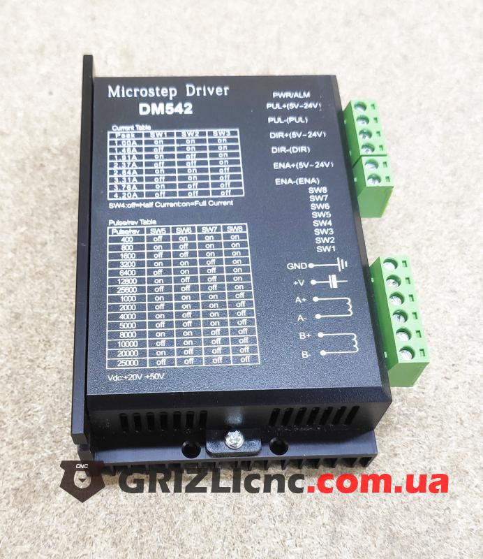DМ542 - драйвер шагового двигателя 4,2 Ампера   Фото: 1