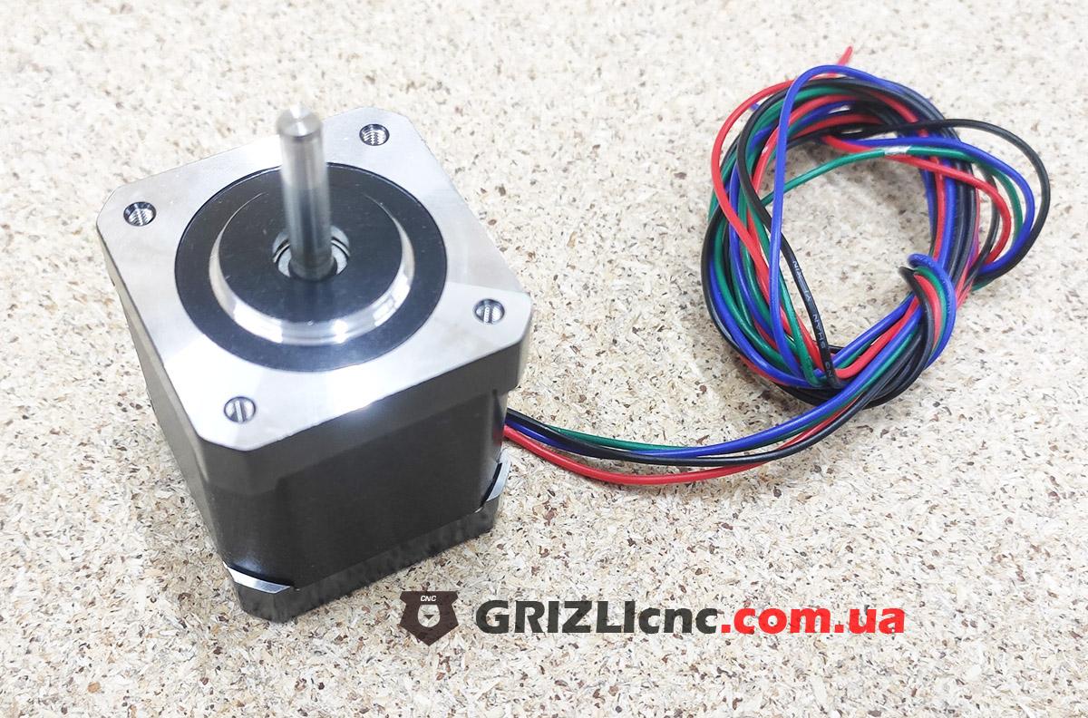 Шаговый двигатель Nema17 0.55Nm 1.7А d5mm | Фото: 1