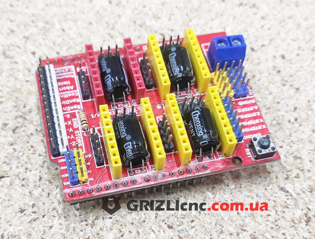 Плата расширения для ЧПУ - CNC Shield v3 для Arduino UNO | Фото: 1