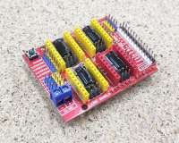 Плата расширения для ЧПУ - CNC Shield v3 для Arduino UNO - Фото: 3