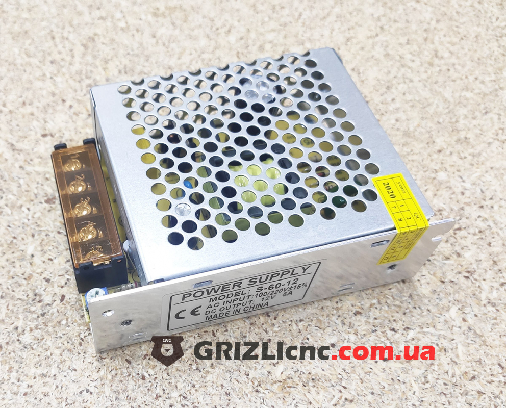 Блок питания 12В 5А 60Вт - пассивное охлаждение | Фото: 1