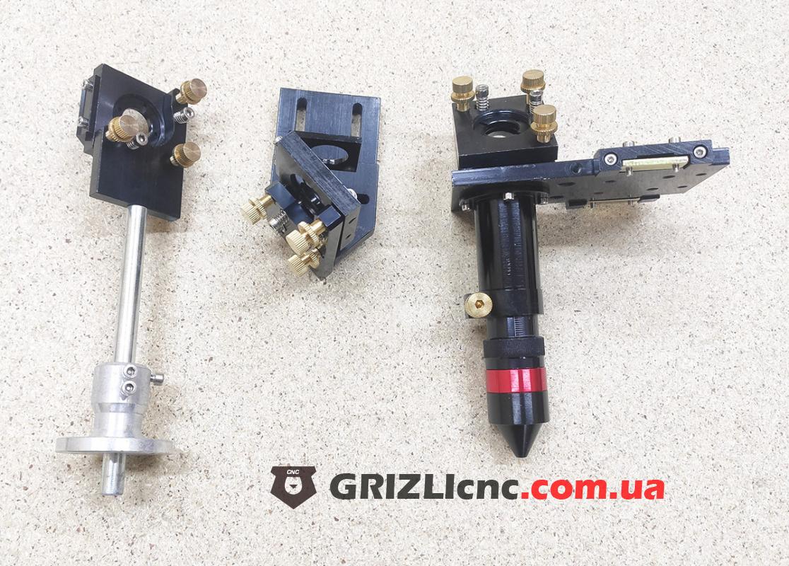 Оптический тракт для лазера CO2 - крепление зеркал и лазерная головка | Фото: 1