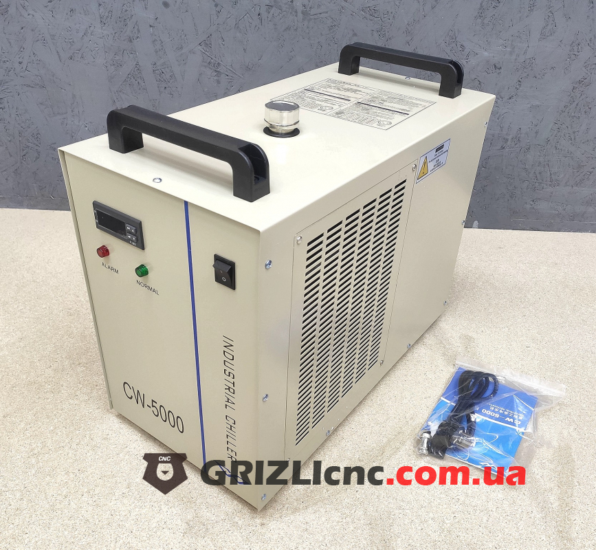 CW-5000 - Чиллер для лазерной трубки CО2  | Фото: 1