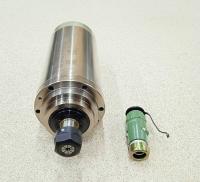 Шпиндель GDZ 3кВт 220В цанга ЕR20 водяное охлаждение (4 подшипника) - Фото: 4