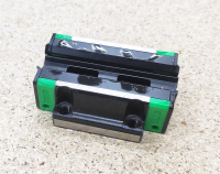 Линейный подшипник HGW15CC (аналог HIWIN) - каретка с фланцем - Фото: 3