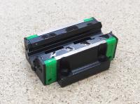 Линейный подшипник HGW15CC (аналог HIWIN) - каретка с фланцем - Фото: 5